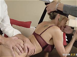 The husband of Brandi love lets her pulverize a different boy