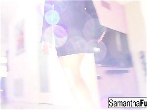 James Deen demonstrates up on set and plows Samantha Saint