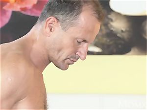 mommy stellar natural doll hairy puss gets internal ejaculation