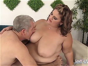 bbw mind-blowing Erin Green gets fucked from behind