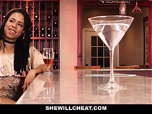 SheWillCheat - cheating wifey plows bbc in shower