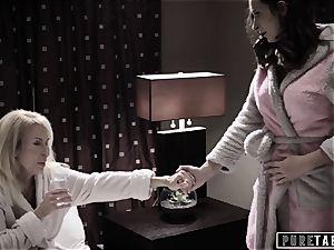 pure TABOO 18yo Ashley Sins Against mummy to sate daddy