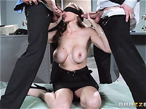 marvelous chief Julia Ann gets a double creaming