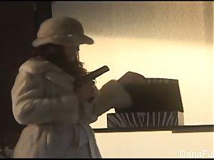 Dana DeArmond gets her slit played with