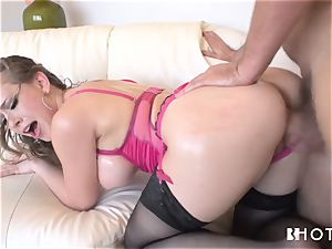 HOTGOLD uber-sexy Kagney is insane for sausage