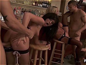 handsome babes poking enormous knobs in a super hot fuck-a-thon