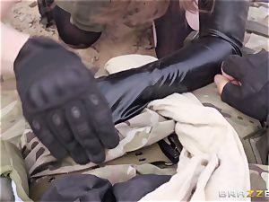 iron Gear Solid five ass fucking porn parody with nasty brunette Casey Calvert