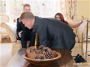 Kiki Minaj pounded by a tearing up milky man rod