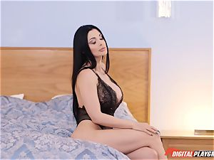 Lusty phat fun bags Hungarian superstar Aletta Ocean is well-prepped to pay money for quality fuck-fest