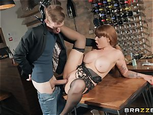Danny catapulting his meaty sausage into super-fucking-hot red-haired