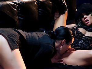 Supergirl Pt 3 Bad damsel lesbians Riley Steele and Katrina Jade