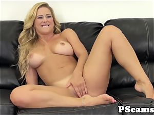 Cherie Deville nailed with bbc on webcam flash