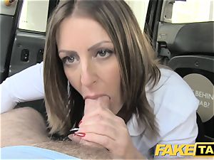 fake taxi office female in pantyhose rimming rectal hookup