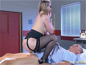 insane doc Sunny Lane gets hold of her favourite patient