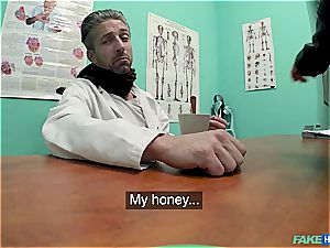 Hidden web cam fucky-fucky in the doctors office
