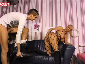 LETSDOEIT - red-hot aunt-in-law rides nephews fuck-stick On hump gauze