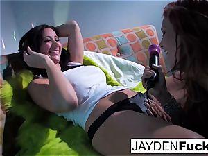 Jayden Jaymes and Jayden Cole get crazy