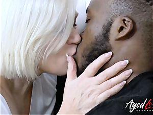 AgedLovE Lacey Starr XXL Size grannie gonzo intercourse