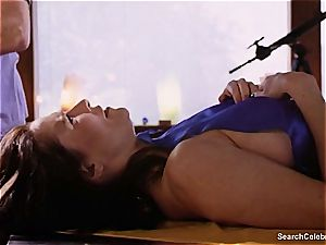 spectacular Mimi Rogers gets her entire figure rubbed