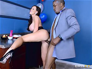 Elections and thick dark-hued pecker erections for Nikki Benz