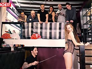 LETSDOEIT - Kira Gets tough torture at domination & submission party