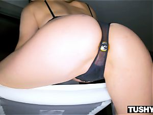 TUSHYRAW Tori dark-hued in her RAWEST anal invasion sequence Ever