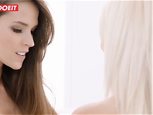 LETSDOEIT - torrid lesbians enjoy Afternoon vulva eating