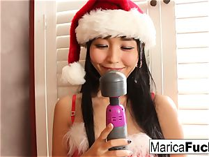 chinese Christmas fashion celebration with Marica's solo