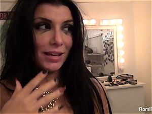 Behind the sequences with super-sexy adult movie star Romi Rain
