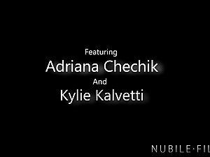 Adriana Chechik Shares Boyfriends spunk With BFF
