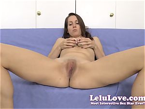 spreading my snatch for you during a jerkoff