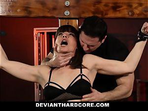 DeviantHardcore-Hot mummy groped and manacled To Cross