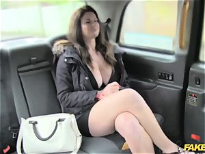 faux cab huge cupcakes and uber-sexy eyes takes knob