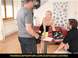 unsheathed casting - bootylicious stunner orgy knowledge test in casting