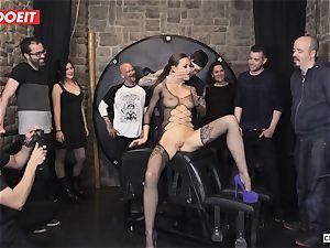 brit stunner Tina Kay Gets subordinated