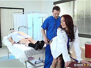 sumptuous medic Monique Alexander pummels her trainee
