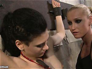 Kathia Nobili torturing a crazy college woman