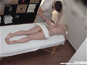big-chested blond rails masseuse
