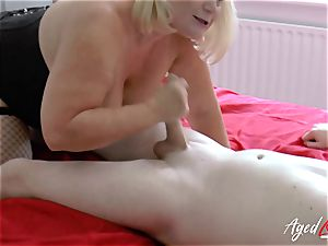 AgedLovE hardcore orgy with Mature Lacey Starr