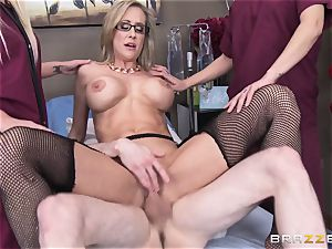 Rock firm patient gets porked by physician Brandi enjoy