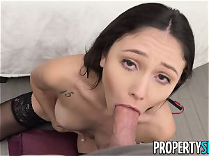 PropertySex Ariana Marie loving The Christmas bang-out
