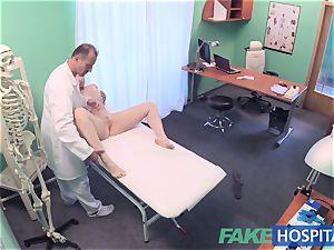 FakeHospital gorgeous Aussie tourist with ginormous boobies