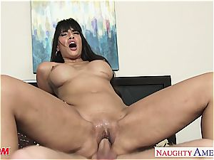 faux titted mother Mercedes Carrera screw a firm manhood
