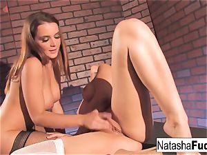 Natasha and Dani Have crazy joy
