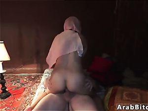 Arab woman and sole gimp first time Local Working lady