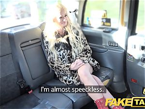 fake taxi blond marvelous hottie does backseat anal fuck-fest