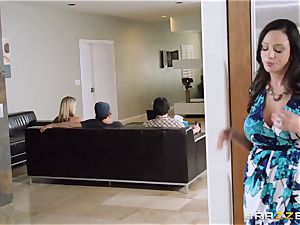 Mean mom Ariella Ferrera tempts her daughters boy