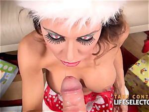 Jessica Jaymes - Christmas inhale milf
