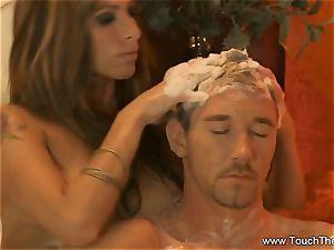 bearing Golden massage mummy blond