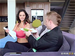 Ava Addams is torn up in both her raw fuck-holes